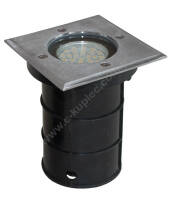 DRIVE-OVER SQUARE LUMINAIRE GU10 230V
